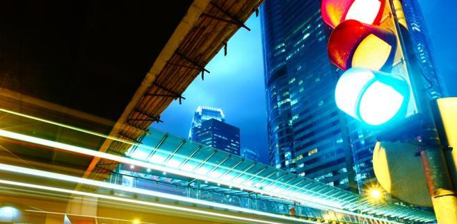 sygnalizacja świetlna, ruch, droga, ulica, miasto