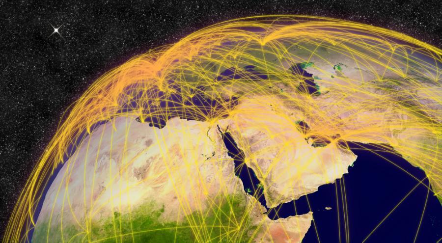 Afryka, Bliski Wschód
