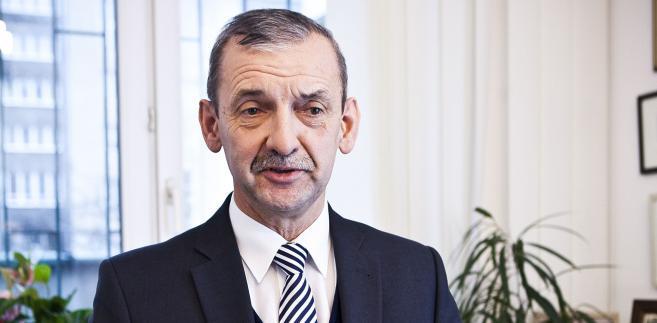 Prezes Związku Nauczycielstwa Polskiego Sławomir Broniarz