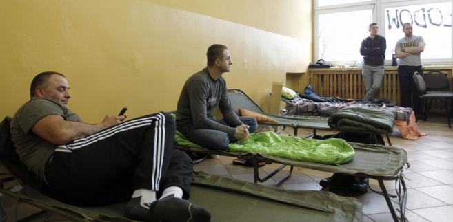 Strajk głodowy w kopalni Zofiówka JSW w Jastrzębiu Zdroju