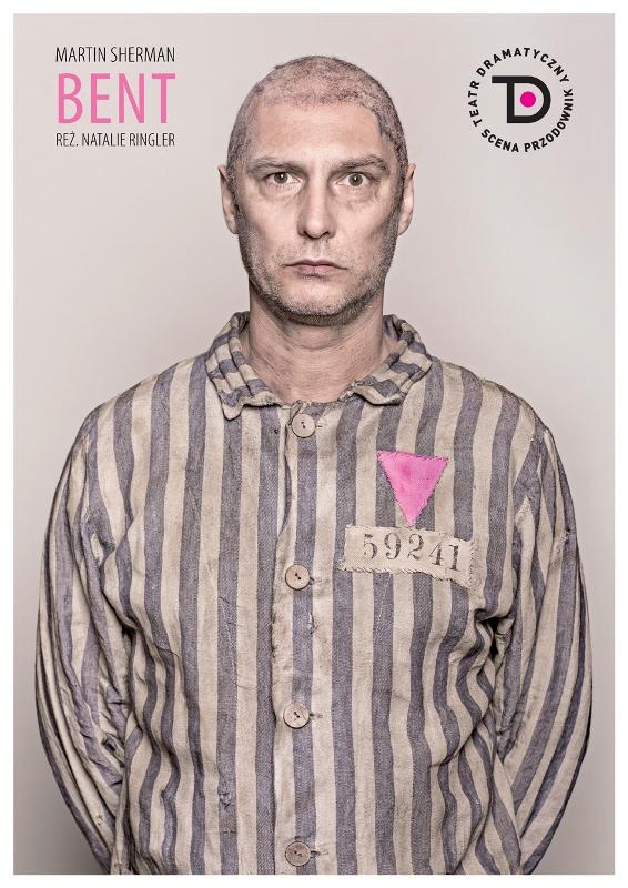 Bent, plakat, Teatr Dramatyczny