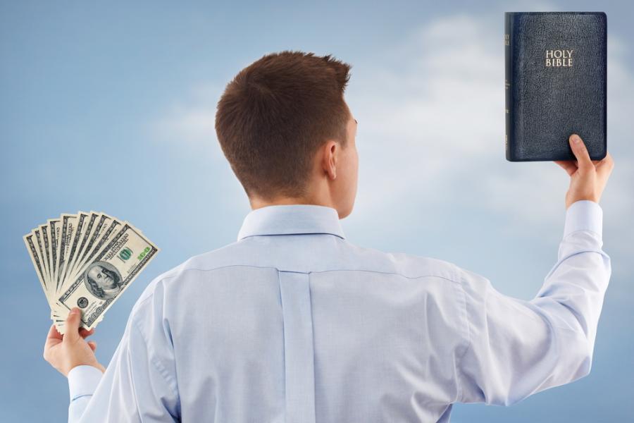 pieniądze, biblia, gospodarka, dolary