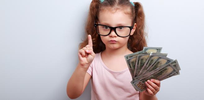 pieniądze dziecko