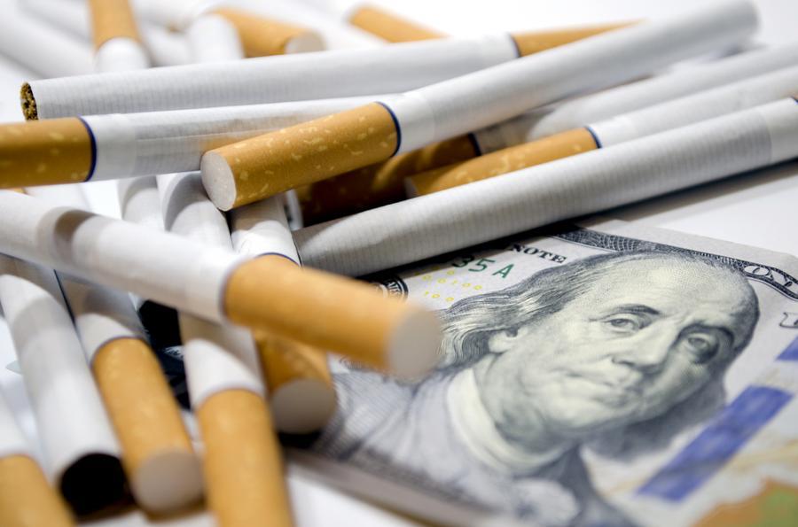 tytoń pieniądze papierosy