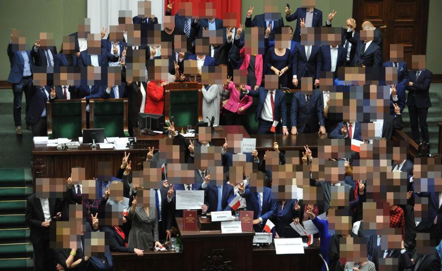Blokada w Sejmie