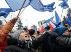 Przed Sejmem manifestował KOD i opozycja
