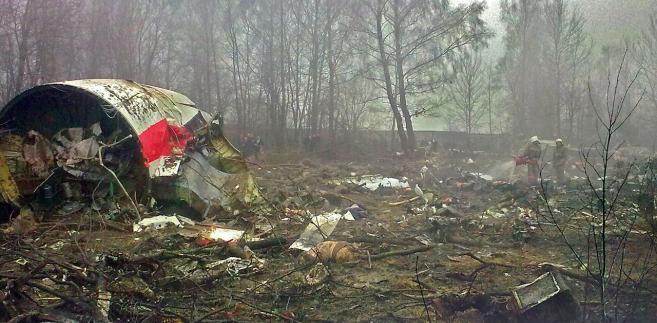 Katastrofa Smoleńsk wrak