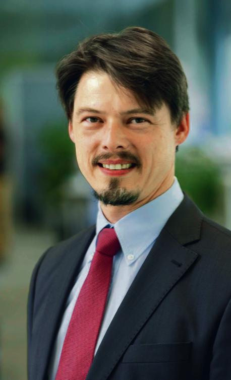 Dr Michael Fausten, wiceszef ds. inżynierii systemów i jazdy autonomicznej w firmie Bosch