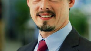 Dr Michael Fausten, wiceszef ds. inżynierii systemów i jazdy autonomicznej w firmie Bosch. fot. Ralf Groemminger/materiały prasowe