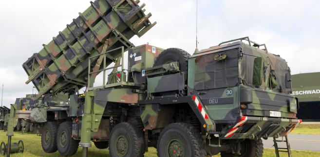Wyrzutnia rakiet Patriot na wyposażeniu niemieckiej armii.