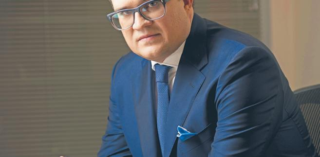 Michał Krupiński, pełniący obowiązki prezesa Banku Pekao
