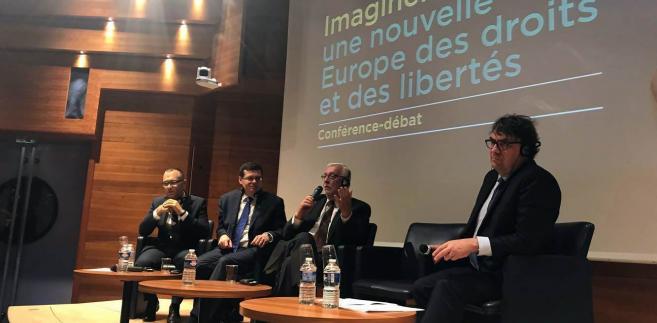 Debata na temat kryzysu praworządności w Polsce.