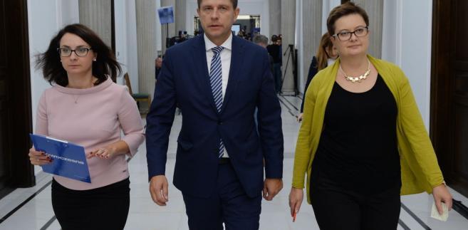 Kamila Gasiuk-Pihowicz, Ryszard Petru, Katarzyna Lubnauer