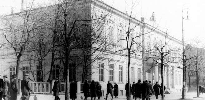 Gmach lubelskiego sądu w czasie okupacji