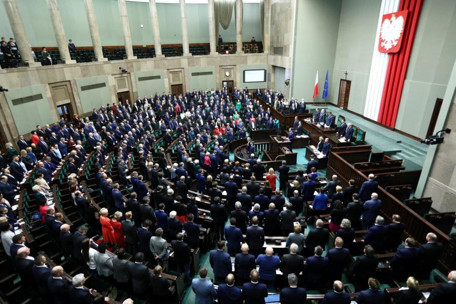 W Sejmie II czytanie prezydenckiego projektu o SN
