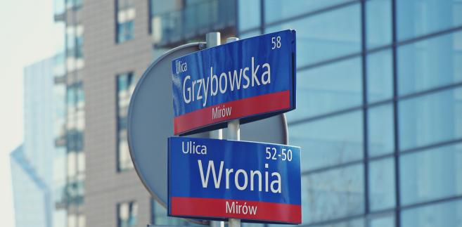 Ulice w Warszawie
