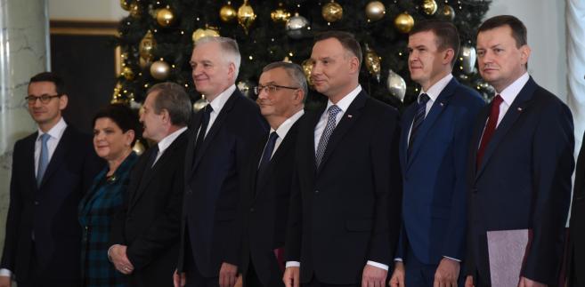 Rekonstrukcja rządu Morawieckiego