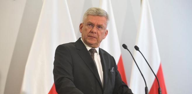Marszałek Senatu pytany, czy Thun powinna oddać mandat europosła powiedział, że nie