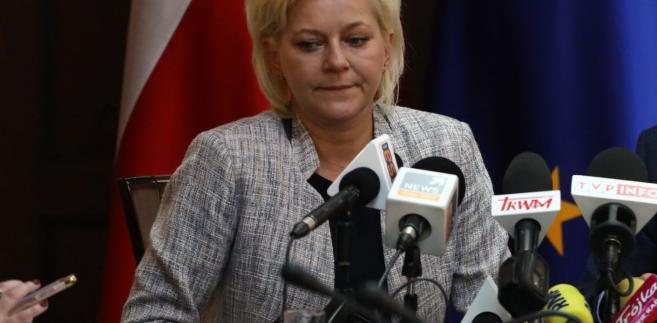 Beata Tokaj, ustępująca szefowa Krajowego Biura Wyborczego