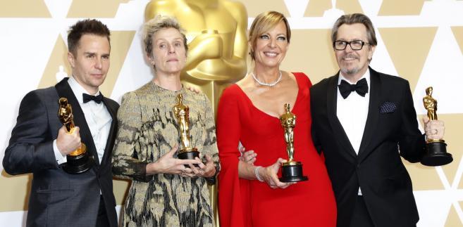 Aktorzy - zwycięzcy Oscarów 2018