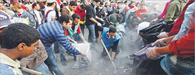 Pomimo polepszenia sytuacji w Egipcie niepewność na rynkach zostaje