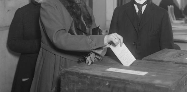 W USA kobiety uzyskały później prawa wyborcze niż kobiety w Polsce
