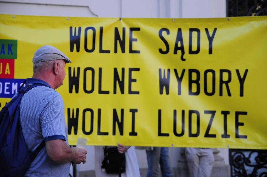 Protest 1 fot. Maciek Suchorabski