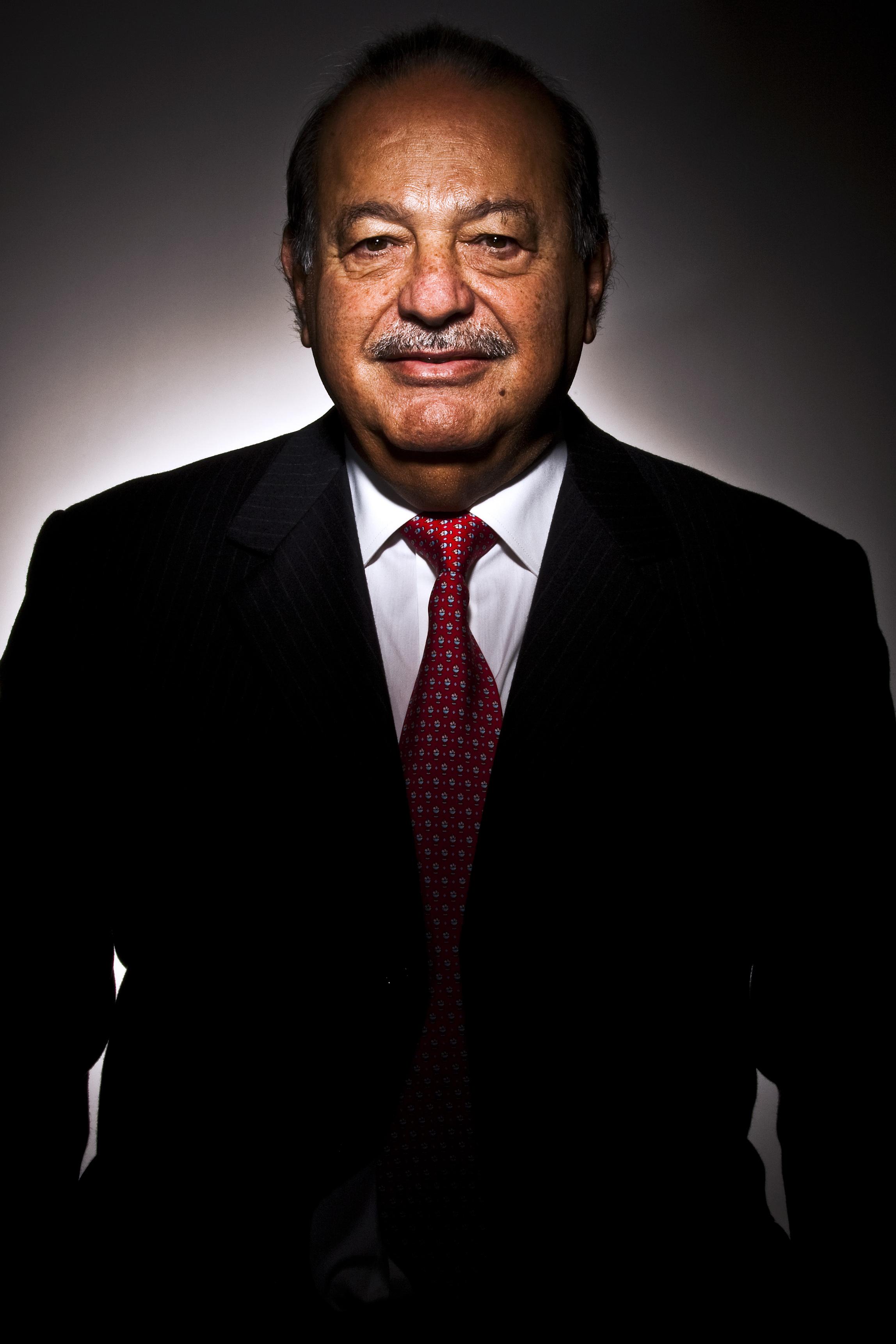 Carlos Slim Fot. Bloomberg