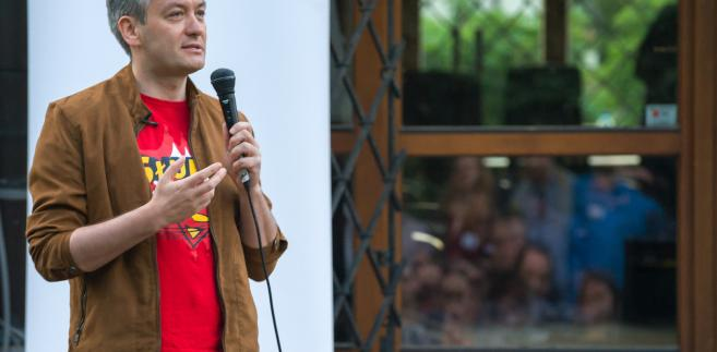 Prezydent Słupska Robert Biedroń i jego zastępczyni w magistracie Krystyna Danilecka-Wojewódzka zarejestrowali komitet wyborczy.