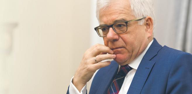 Jacek Czaputowicz , minister spraw zagranicznych