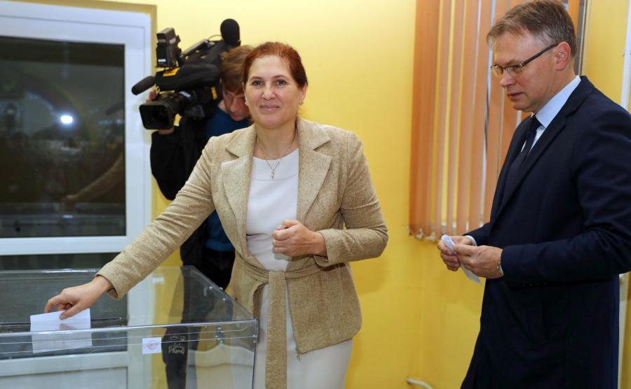 Iwona Mularczyk i  Arkadiusz Mularczyk