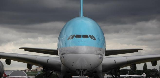 Airbus A380 linii Korean Air.