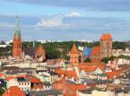 <b>Województwo Kujawsko - Pomorskie: Toruń  </b><br />  Na zdjęciu widok na panoramę Torunia