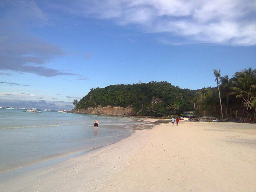 Plaża Boracay, Filipiny. Fot.flickr/ReXan2011