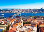 13. Stambuł - jest dzisiaj znany dzięki swoim centrom mody i festiwalom filmowym. Po wyczerpujących zakupach turysta może się udać do jednej z licznych tureckich kafejek.