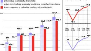 Wybrane wyniki polskich przedsiębiorstw
