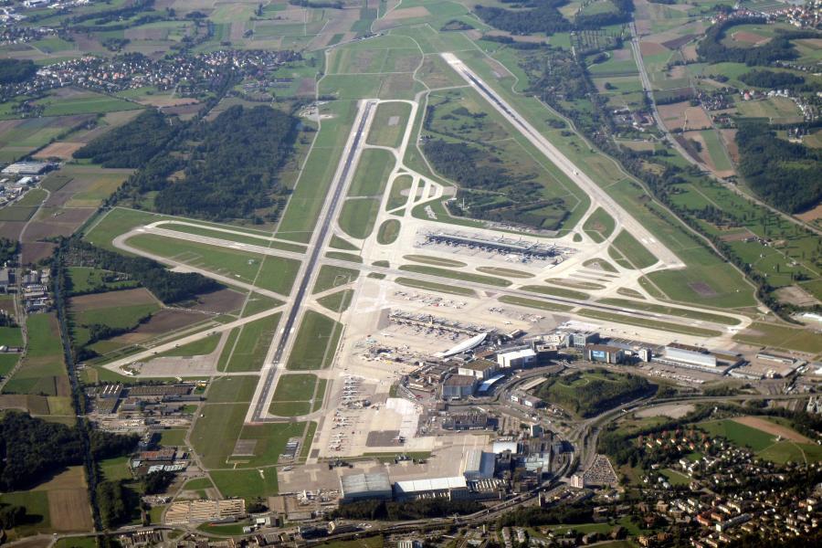 Port lotniczy w Zurichu