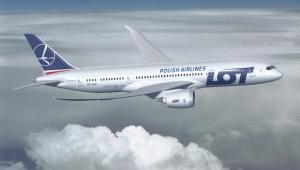 Boeing 787 w barwach LOT-u