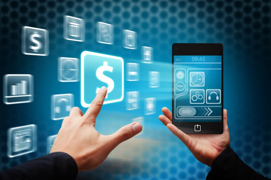 telefon, smartfon, pieniądze
