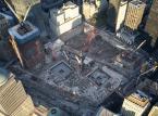 Widok na dolny Manhattan. Dokładnie w tym miejscu stały wieże World Trade Center